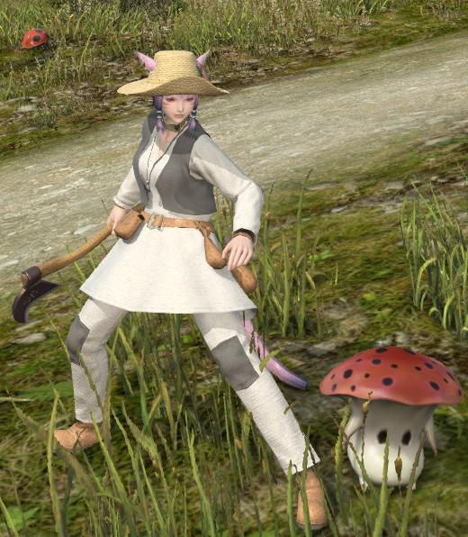 《最终幻想14》成为园艺师之路 全