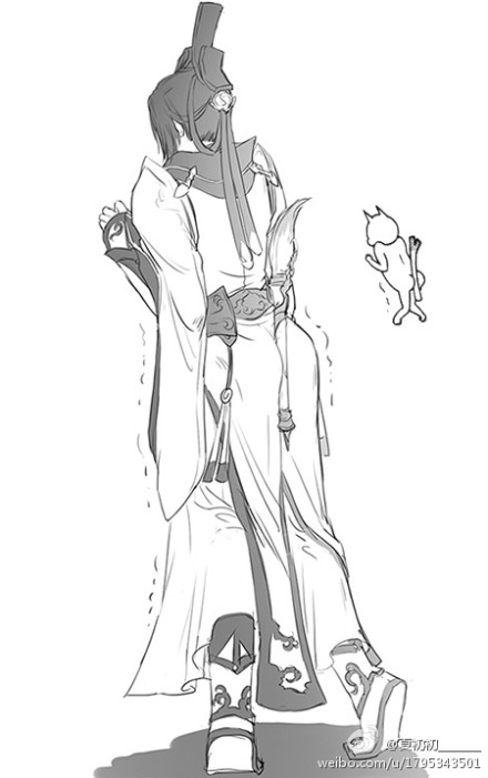 《剑网3》跟鬼剃头学拟人 看表情拟咩漫画