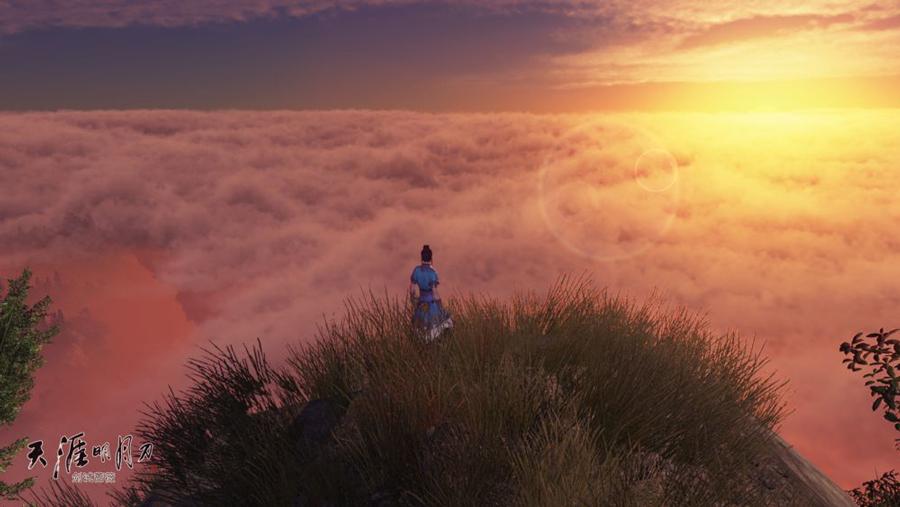 喂,醒醒吧,还是回到现实中,体验初阳带来的那一丝温暖.