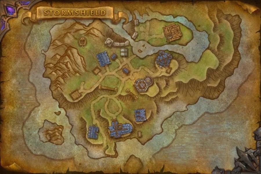 魔兽世界6.0资料片全新地图及加载界面抢先看