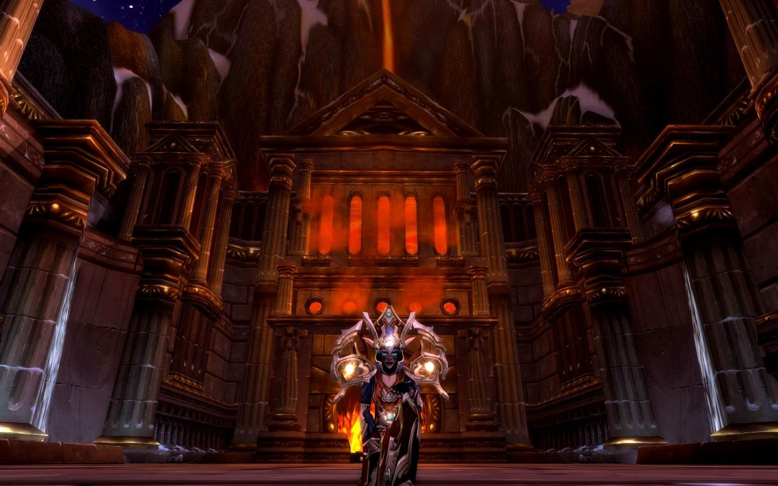 魔兽世界11大职业黄金挑战套装犀利展示一览