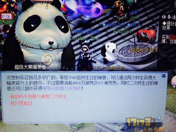 神兽大熊猫进阶真心值_超级大熊猫,神兽进阶_171732