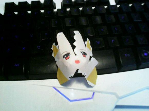 技术帝手把手教你设计dnf手办纸模型 第三课