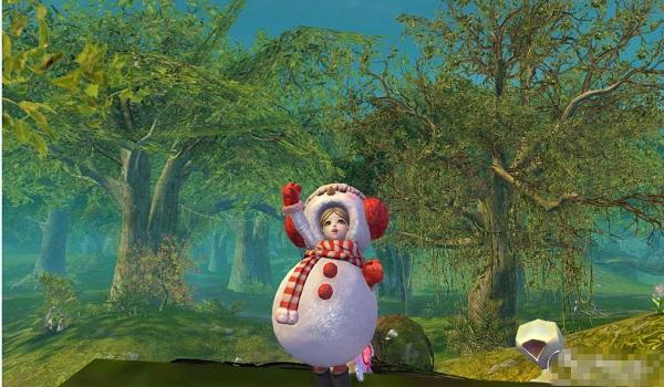 圣诞可爱雪人套装展 小萝莉萌你一脸血