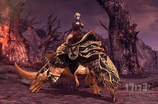 """铁甲暴龙""""和""""铜甲暴龙""""三种.乘坐该坐骑可缩小70%的怪物识别范图片"""