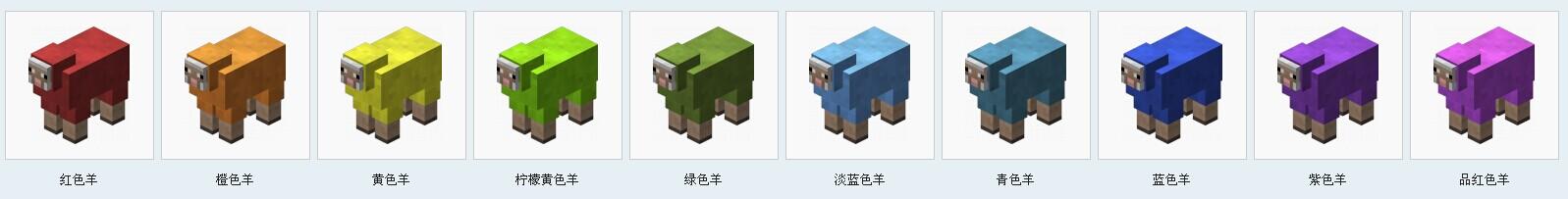我的世界生物图鉴羊