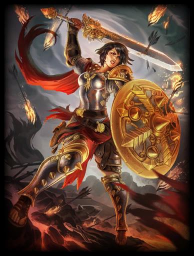 神之浩劫英雄资料:罗马战女神贝罗娜
