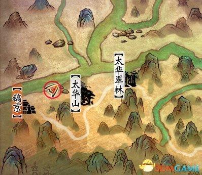 《轩辕剑6》地图神密杂货商人位置