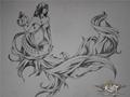 天谕苏澜女神像同人手绘