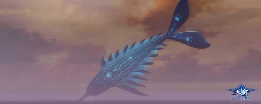 天谕里的标志性场景——玄鲸 截图赏析
