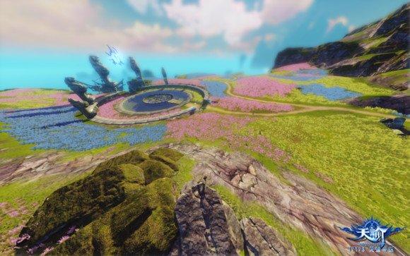 天谕玩家分享游戏最高画质截图:风景党的福利