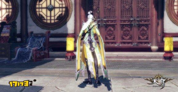 天諭部分男版時裝染色效果展示:全是普通染料