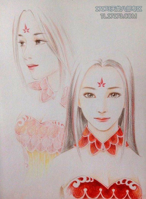 彩铅版手绘展示