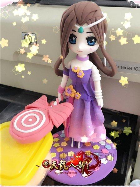 天龙才女秀:墨小湮和她的粘土娃娃们的故事