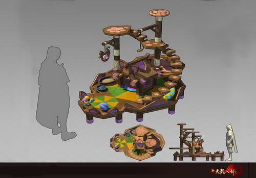 仓库升级《新天龙》策划现场演示庄园玩法