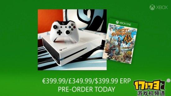 白色版Xbox One开始预订!独占游戏惊喜价