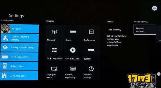 Xbox One如何删除不需要的人物设定档