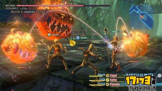 《最终幻想12》高清重制版公布 2017年发售