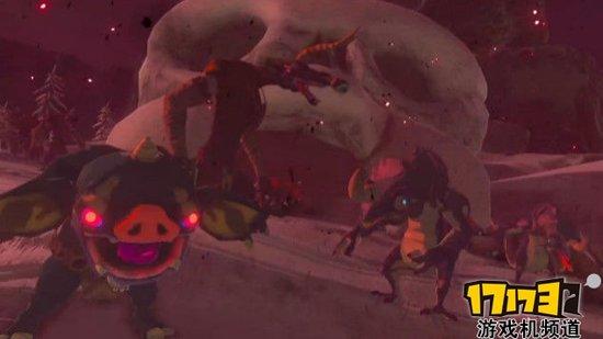 《塞尔达 荒野之息》预告 与Switch同期发售