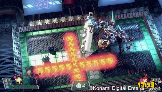 《超级炸弹人R》加入NS首发阵营 宣传视频公开