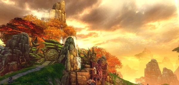 天下3建木战场场景截图赏析