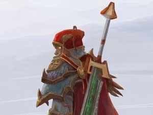 玩家原创彩绘:信仰圣光吧!血精灵圣骑士