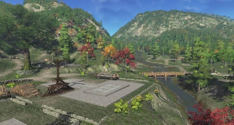 【锦燕林动物乐园】 归池南面的锦燕林,乃九华小动物最为繁茂之地.