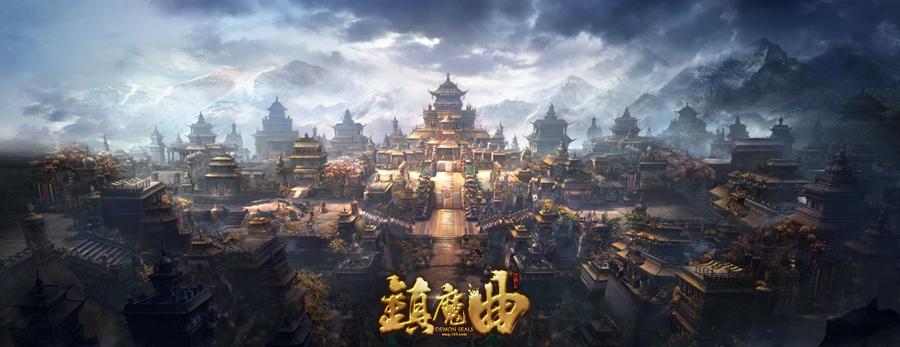 千万CG助力 网易公布新游《镇魔曲》4.16上市